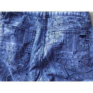 Tory Burch Jeans - TORY BURCH PURPLE IVY SUPER SKINNY JEAN SZ 27